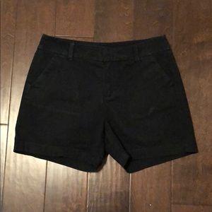 Merona Black Shorts: Fit 1